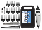 Wahl Clipper 9236-1001 Haircutting Kit, 17-Piece