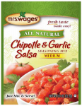 Kent Precision Foods Group W630-K7425 Tomato Sauce & Canning Mix, Instant Chipotle & Garlic Salsa, .8-oz.