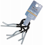 Cequent Consumer Products 7021300 Hitch Pin Clip, Rubber-Coated, 3-Pk.