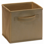 Closetmaid 2157200 Mini Fab Drawer, For Mini Cubical Laminate Organizer, Mocha, 2-Pk.