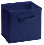 Closetmaid 2157700 Mini Drawer, Blue Fabric, Fits Mini Cubical Laminate Organizers, 2-Pk.