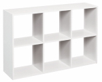 Closetmaid 157800 Mini 6-Cube Organizer, White