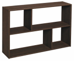 Closetmaid 158100 Mini Cubical Organizer, Offset Design, Espresso Finish