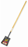 Bully Tools 72525 Shovel, Square Point, Ash Handle, 56.75-In.