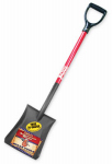 Bully Tools 82520 Shovel, Square Point, Fiberglass Handle, 44-In.