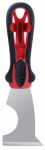 Warner Mfg 10516 5-In-1 Painter's Tool, Soft Grip & Steel