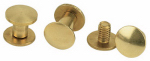 Weaver Leather 30-1099 Chicago Screw Pack For Horse Harness, Brass, 1/4 & 3/8-In., 6-Pk.