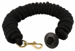 Weaver Leather 35-1915-BK Horse Lunge Line, Black Rounded Cotton, 3/4-In. x 25-Ft.