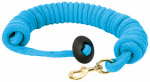 Weaver Leather 35-1916-BL Horse Lunge Line, Blue Rounded Cotton, 3/4-In. x 25-Ft.