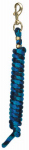 Weaver Leather 35-2100-B15 Horse Lead Rope, Navy/Blue/Turquoise Poly, 5/8-In. x 10-Ft.