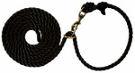 Weaver Leather 35-4040-BK Livestock Neck Rope, Black Poly, 1/2-In. x 10-Ft.