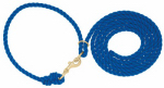 Weaver Leather 35-4040-BL Livestock Neck Rope, Blue Poly, 1/2-In. x 10-Ft.
