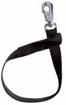 Weaver Leather 35-7065-BK Stable/Fence Bucket Strap, Black Nylon, 1 x 22-In.