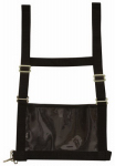 Weaver Leather 35-8102-BK Show Number Harness, Black Nylon, Adult Medium/Large