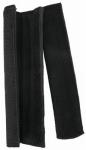 Weaver Leather 35-8105 Noseband Cover For Poly Rope Cow Halter, Black Neoprene, 8-In., 2-Pk.