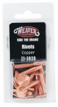 Weaver Leather 77-3020 Copper Rivets & Burrs, Assorted, 12-Pc.