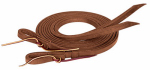 Weaver Leather CD-1637 Horse Reins, Extra Heavy, Oiled Hermann Oak Leather, 5/8-In. x 8-Ft.