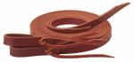Weaver Leather CD-1655 Horse Reins, Burnished Burgundy Latigo Leather, 5/8-In. x 7-Ft.
