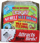 C & S Products 12583 No Melt Suet Dough Cake, Mealworm Delight, 11.75-oz