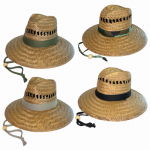 Dorfman Pacific TM388 Men's Best Seller Straw Hat Assortment