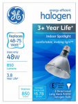 G E Lighting 74779 Halogen Spot Bulb, Long Neck, Dimmable, 48-Watt