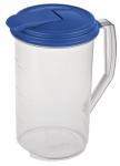 Sterilite 04864106 Beverage Pitcher, Round, BPA-Free Plastic, 2-Qts.