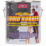 Ames Research Laboratories BWRF1 Block & Wall Liquid Rubber Coating, White, 1-Gal.
