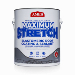 Ames Research Laboratories MSS1 Maximum Stretch Elastomeric Roof Coating, White, 1-Gal.
