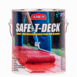 Ames Research Laboratories SD1TW Safe-T-Deck Skid-Resistant Paint, Tintable White, 1-Gal.