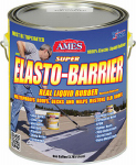 Ames Research Laboratories SEB1 Super Elasto Barrier Rubber Roof/Deck Coating, Gray, 1-Gal.