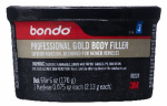 3M 00230 Pro Gold Body Filler, Single-Use, 6-oz.