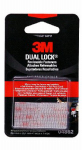 3M 04862 Dual Lock Reclosable Fasteners, Clear, 1 x 1-In.