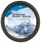 Custom Accessories 38405 Steering Wheel Cover, Black Foam, One Size