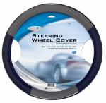 Custom Accessories 38850 Steering Wheel Cover, Black/Grey, One Size