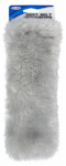 Custom Accessories 50079 Seat Belt Comforter, Grey Simulated Sheepskin
