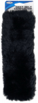 Custom Accessories 50080 Seat Belt Comforter, Black Simulated Sheepskin