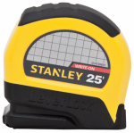 Stanley Consumer Tools STHT30825 Leverlock Tape Measure, 25-Ft.