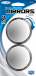 Custom Accessories 71172 Car Blind-Spot Mirror, Round, 2-In., 2-Pk.