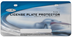 Custom Accessories 92515 License Plate Protector, Clear
