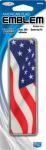 Custom Accessories 98090 Car Emblem, America Flag, Self-Adhesive