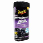 Meguiars G13600 Car Interior Wipes, 25-Ct.