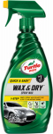 Turtle Wax T9 1-Step Wax And Dry, 26-oz.