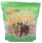 Manna Pro 0593557338 Blasts Horse Treats, Carrot, 3-Lbs.