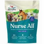 Manna Pro 0093940206 Nurse-All Livestock Milk Replacer, 3-1/2-Lbs.