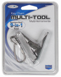 Custom Accessories 17555 Multi-Tool Keychain, 9-In-1