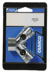 "Camco Mfg 20113 Garden Hose ""Y"" Metal Shut Off Valve"