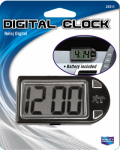 Custom Accessories 25211 Digital Clock, Stand/Mount, Battery Incl.