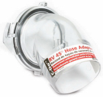 Camco Mfg 39432 RV Sewer Hose Adapter, 45-Degree, Clear