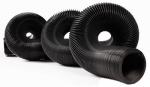 Camco Mfg 39611 RV Sewer Hose, Black Vinyl, 20-Ft.