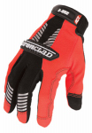 Ironclad Performance Wear IVO2-04-L I-Viz Reflective Safety Gloves, Orange, Large